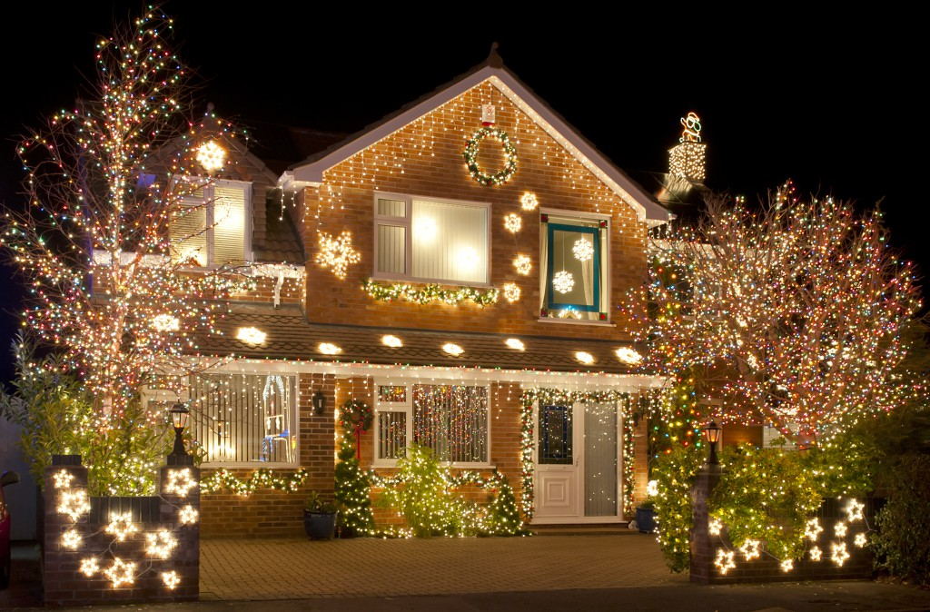 light display, christmas lights